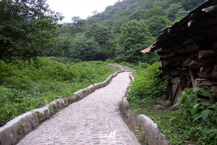 پارک جنگلی و کوهستانی از زیباترین جاهای دیدنی ماسوله