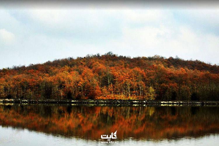 پاییز-دریاچه-سقالکسار