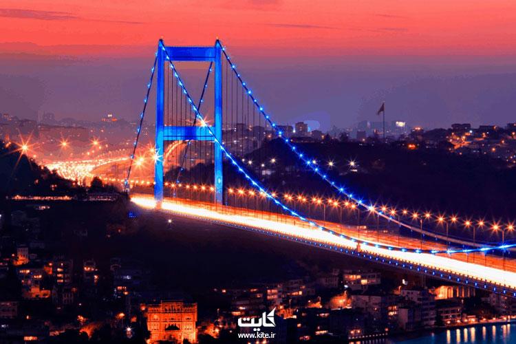 پل-بوسفور-استانبول-از-بهترین-مکان-ها-برای-عکاسی