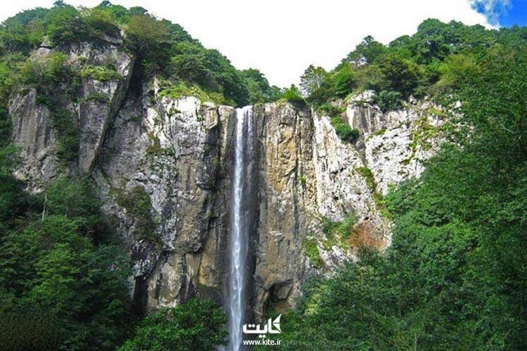 پوشش-گیاهی،-جانوری-آبشار-لاتون