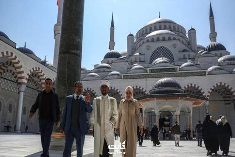 مساجدی که در تور استانبول