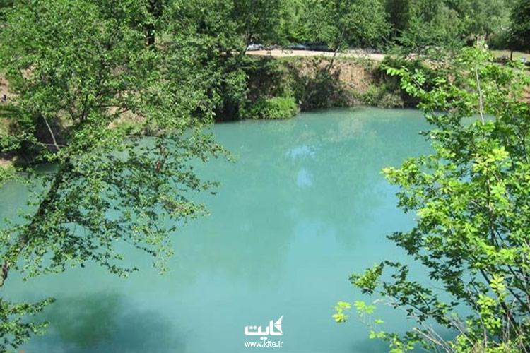 چشمه-گل-رامیان-آبی