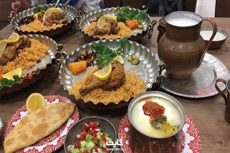 یه ناهار خوشمزه در تور ترکمن صحرا