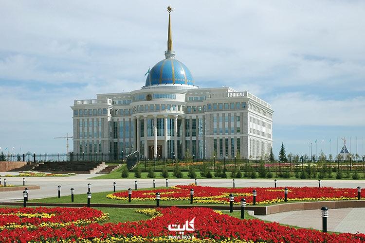 کاخ-ریاست-جمهوری-نورالسلطان