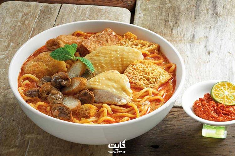 کری-لاکسا-از-بهترین-غذاهای-مالزی