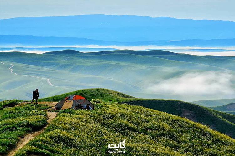کمپینگ-در-هزار-دره-ترکمن-صحرا