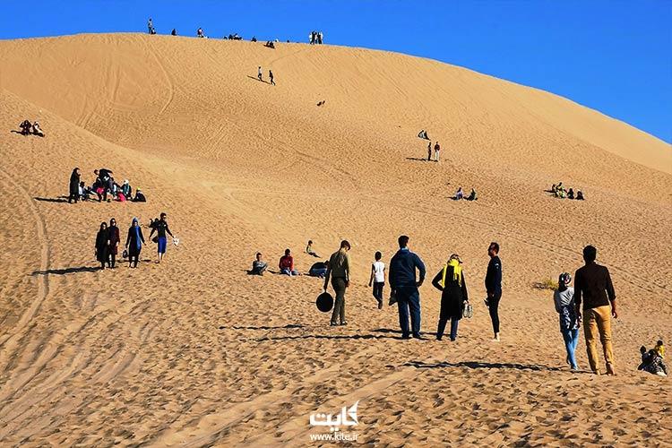 روز اول سفر به کویر مصر