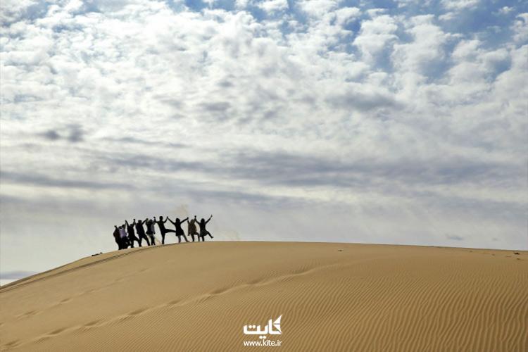 سفرنامه تور کویر مصر