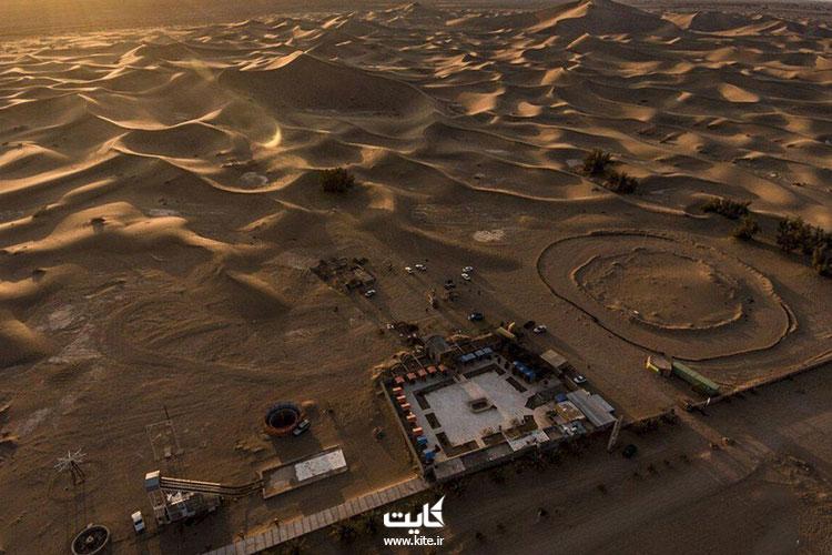 کویر کاراکال از بزرگ ترین کویرهای ایران