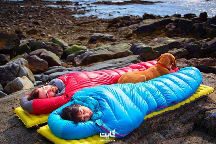 کیسه-خواب-از-تجهیزات-طبیعتگردی
