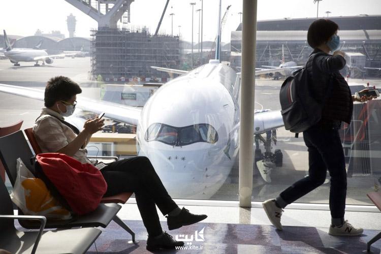 لغو پروازهای خارجی با شیوع کرونا ویروس
