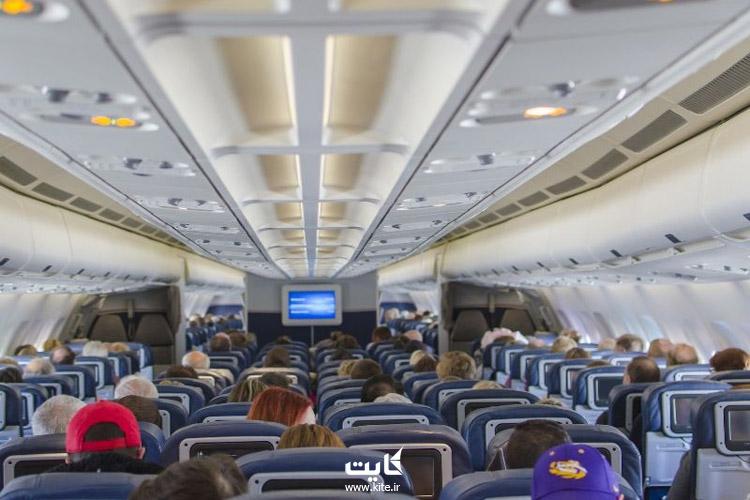 انتقال ویروس در هواپیما