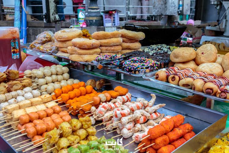 فرهنگ غذایی کشور مالزی