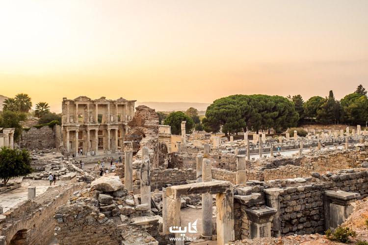 تاریخچه شهر افسوس کوشآداسی