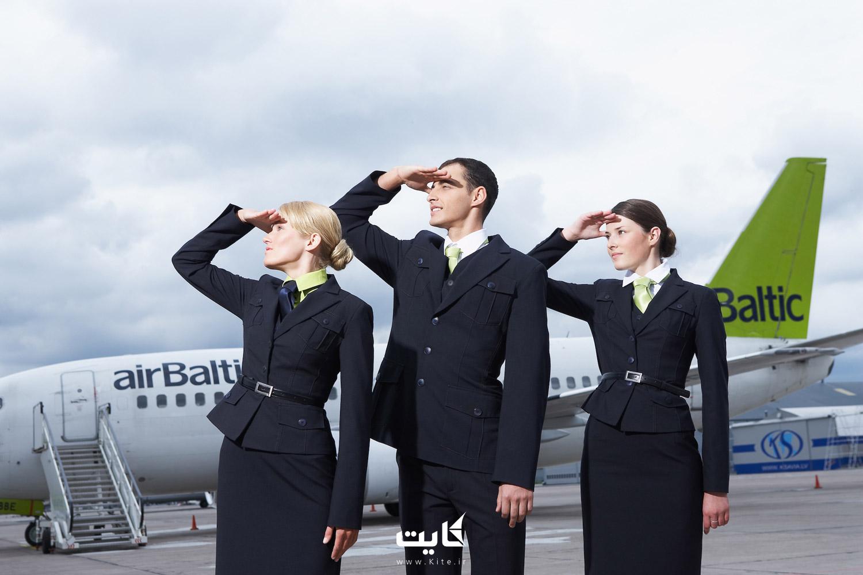 به مهمانداری هواپیما فکر کنید