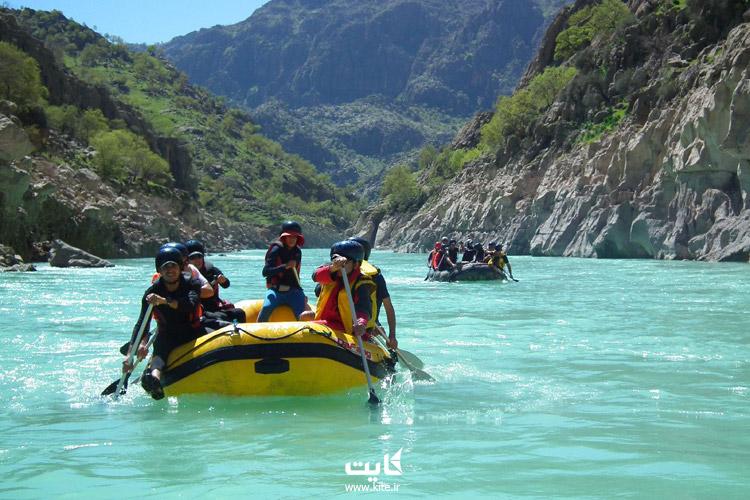 رودخانه ارمند در استان چهارمحال بختیاری