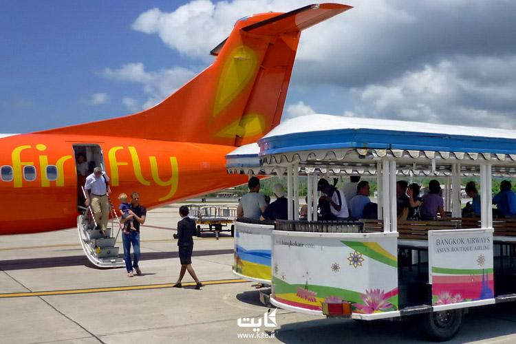 دسترسی به فرودگاه سامویی تایلند