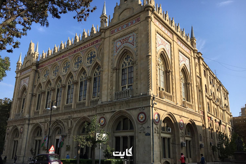 معماری کاخ اسماعیلیه باکو