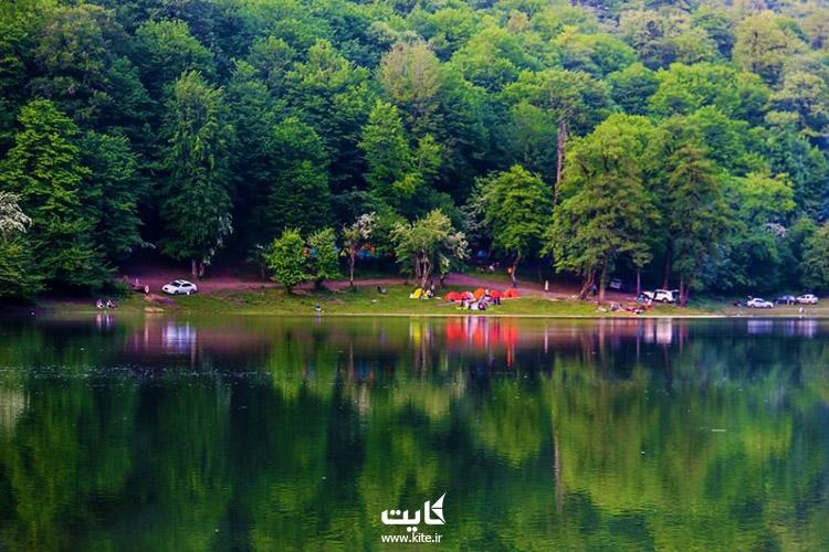 تور یکروزه دریاچه چورت و چشمههای بادابسورت