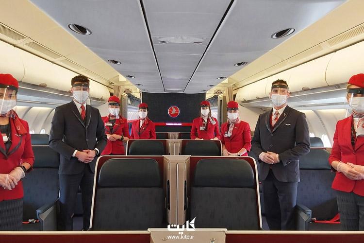 شروع پروازهای ترکیه