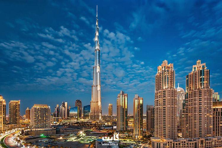 ساخت و ساز برج خلیفه امارات