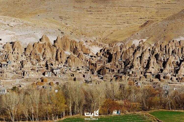 روستای کندوان در آذربایجان شرقی