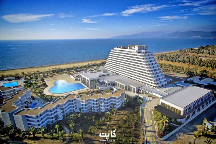 هتل لوکس ساحلی کوش آداسی