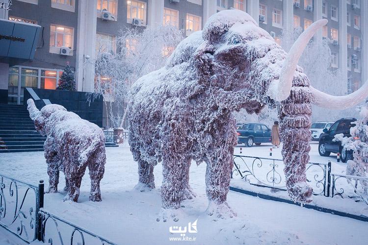 یاکوتسک (Yakutsk) در روسیه