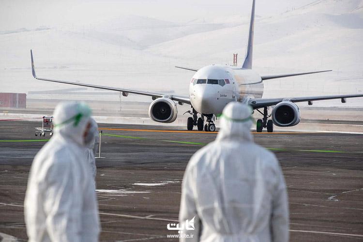 محدودیتهای پروازهای خارجی کشورها به ایران