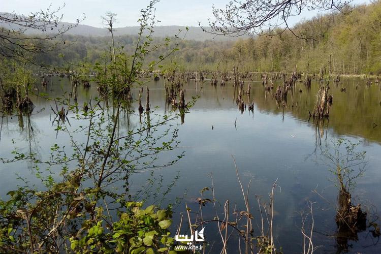 آدرس دریاچه ارواح نوشهر