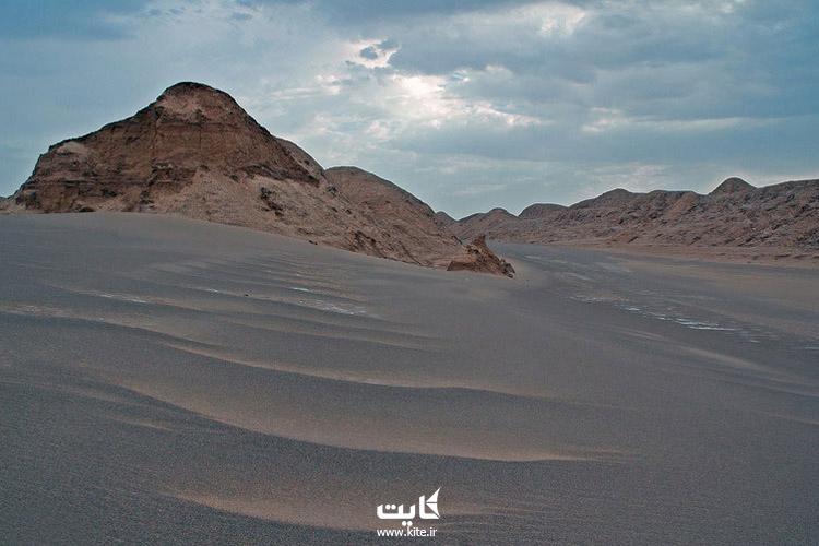 بررسی دمای هوای کویرهای ایران