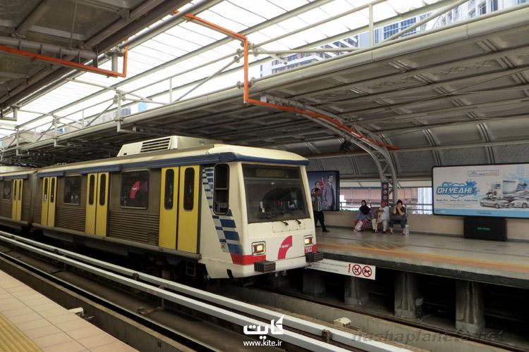 از حمل و نقل عمومی در مالزی استفاده کنید