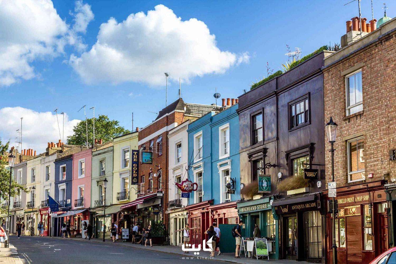 خیابان پورتوبلو (Portobello) در لندن