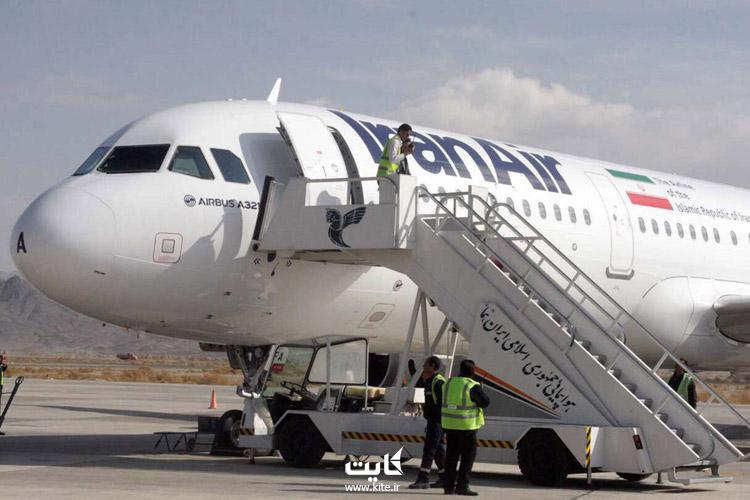 پرواز ایران ایرتور