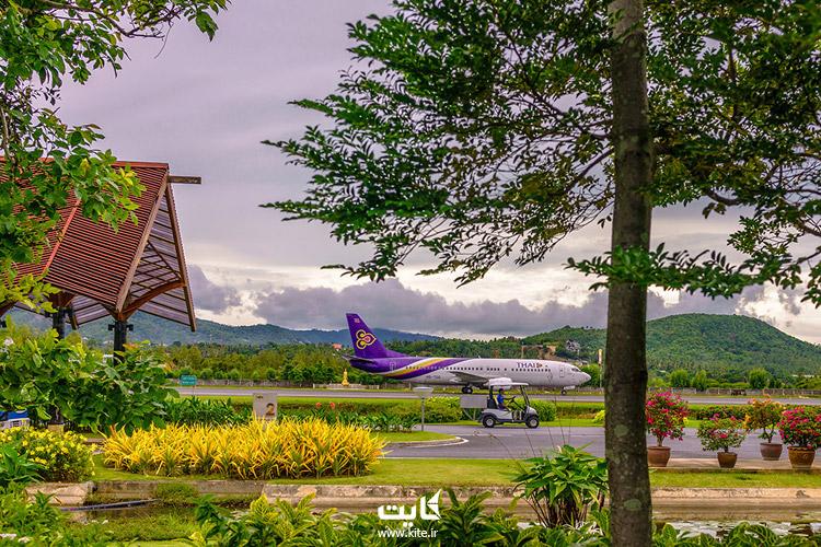 خطوط هوایی فرودگاه سامویی تایلند