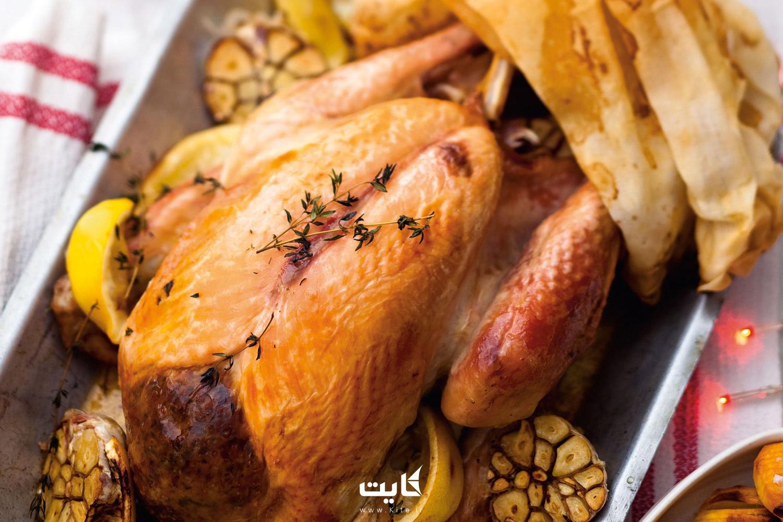 مرغ پخته شده در ترکیه