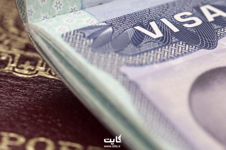 مهر ویزا در پاسپورت