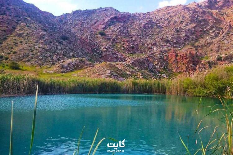 تالاب سیاه گاو در استان ایلام