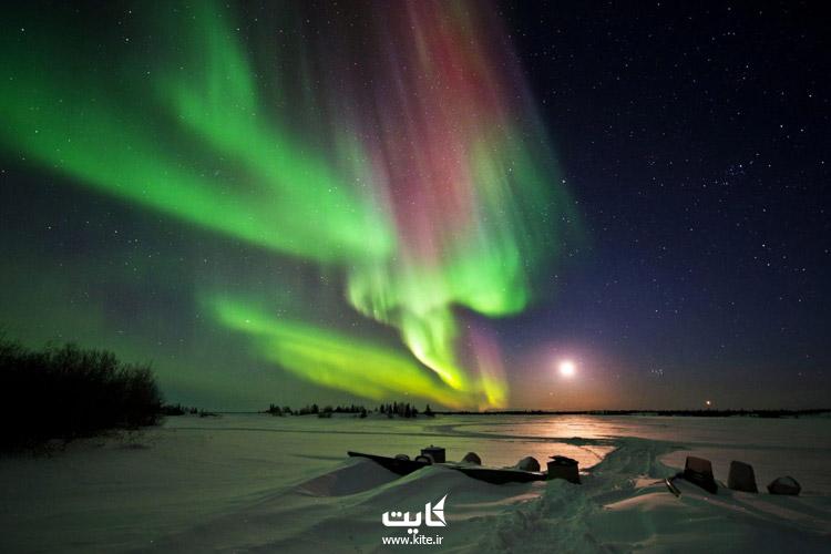 یلونایف (Yellowknife) در کانادا