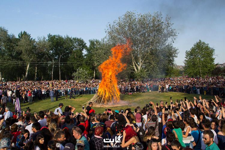 فستیوال هیدیرلز ترکیه (Hidrellez festival)