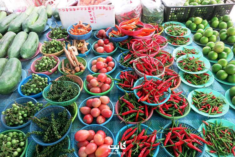قیمت غذا در تایلند