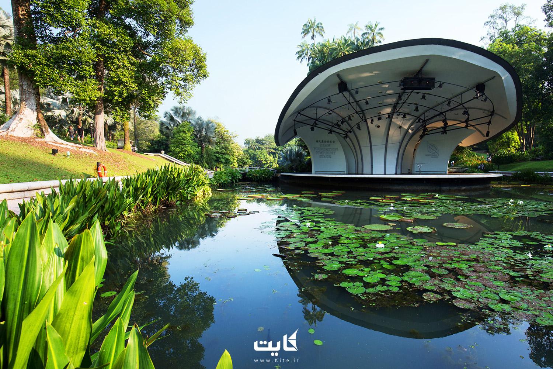 فضای سبز جذاب و باغهای سنگاپور
