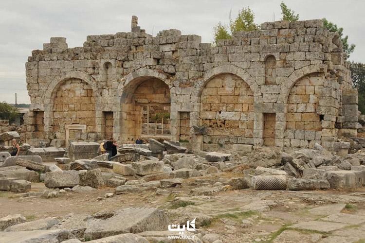 راههای دسترسی به شهر تاریخی پرگا
