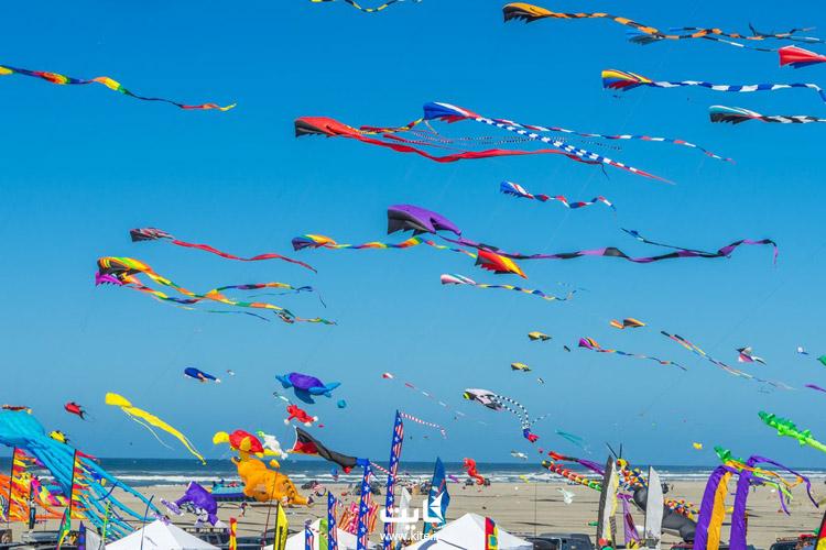 فستیوال بادبادک ساریگرمه (Sarıgerme Kite Festival)