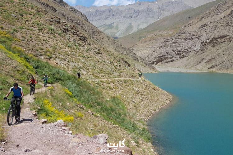 راههای دسترسی به دریاچه هویر