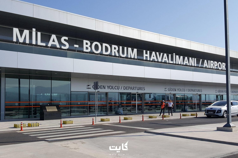 عکس از ورودی فرودگاه کوش آداسی