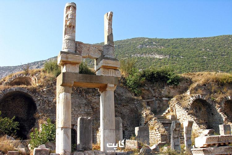 معبد دومیتیان (Domitian temple)