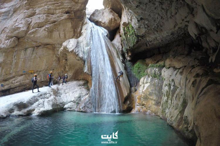 تنگه رغز در استان فارس