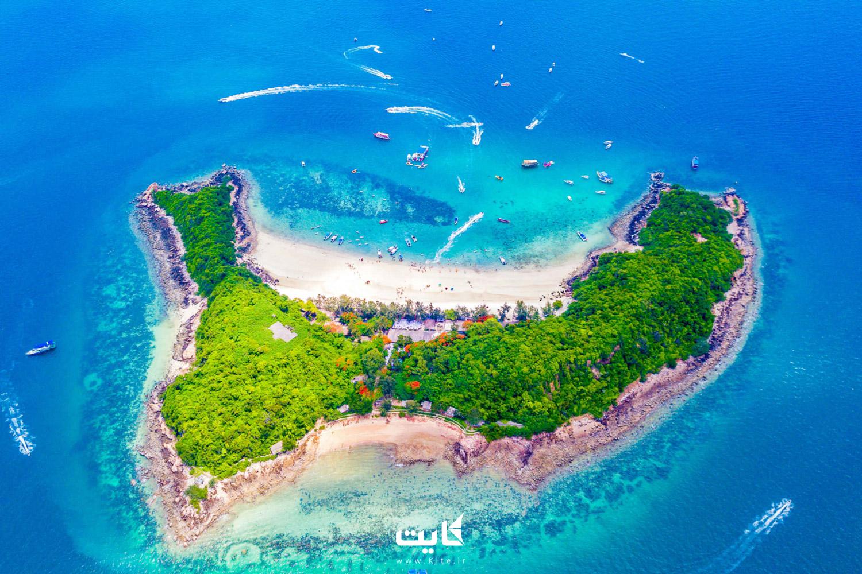 ساحل جزیره کوه لارن (Koh Larn)