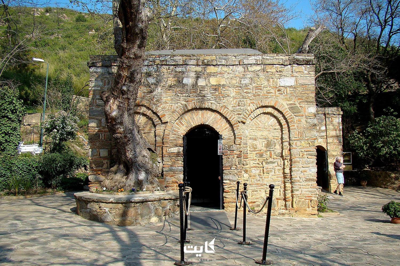 خانه حضرت مریم در ترکیه